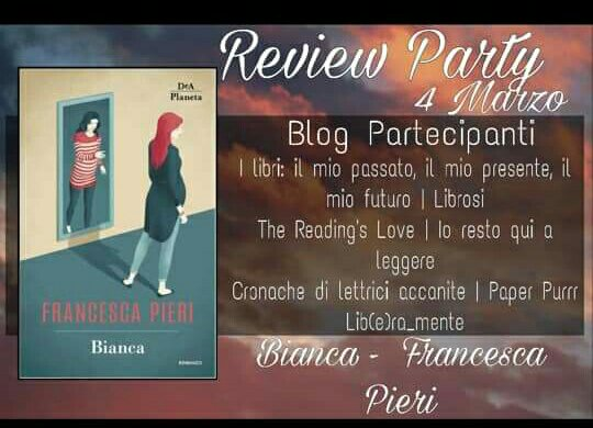 Review party, Bianca di Francesca Pieri.
