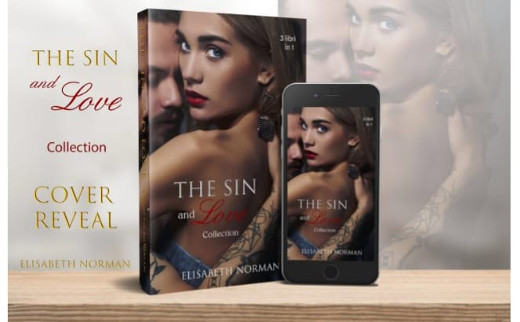 """Cover real, """"The Sin and Love collection"""""""