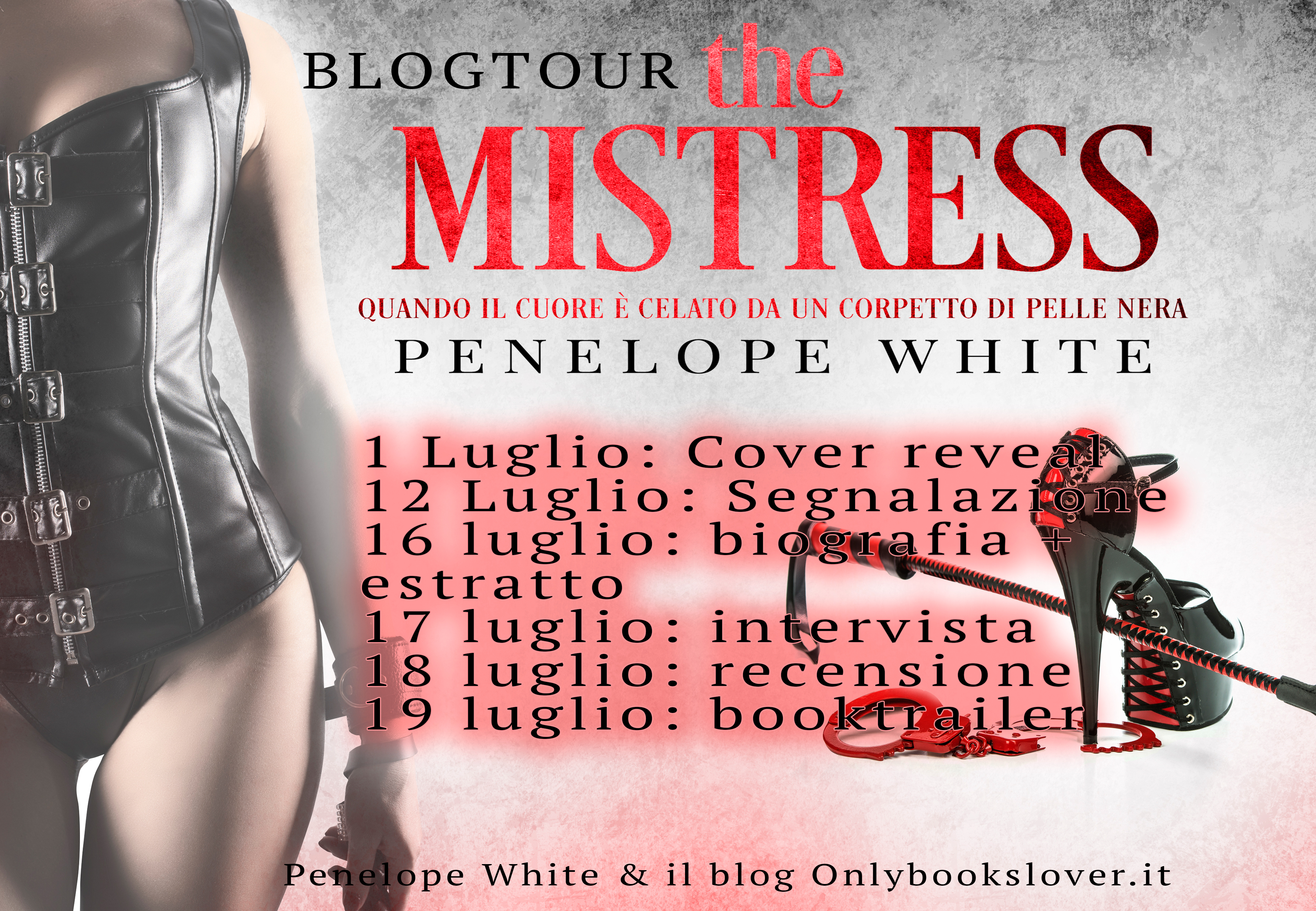 "Blog tour, ""the Mistress"""
