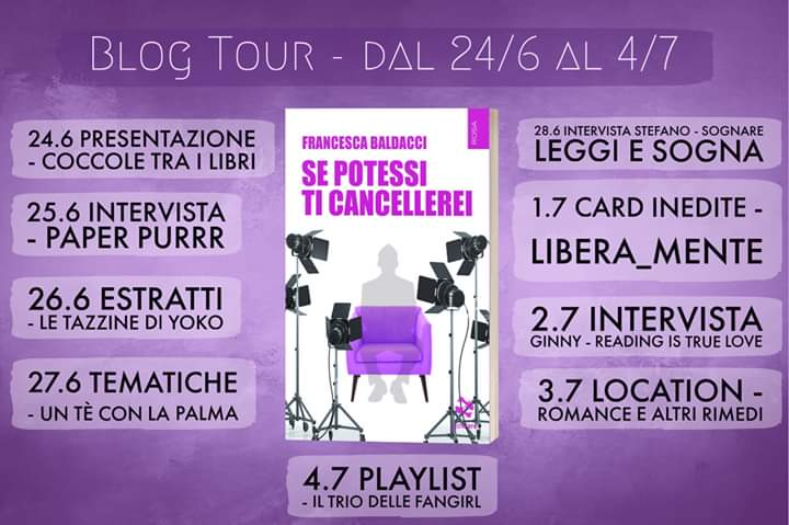 "Blog tour, ""se potessi ti cancellerei"""