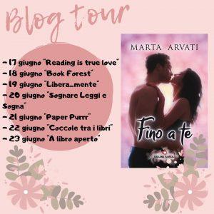 """Blog tour, """"Fino a te"""""""
