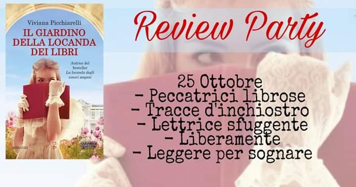 """Review party,""""Il giardino della locanda dei libri"""""""