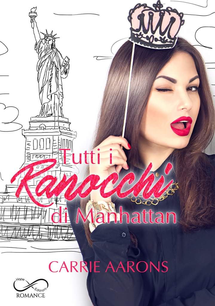"Cover reveal,""Tutti i ranocchi di Manhattan"""
