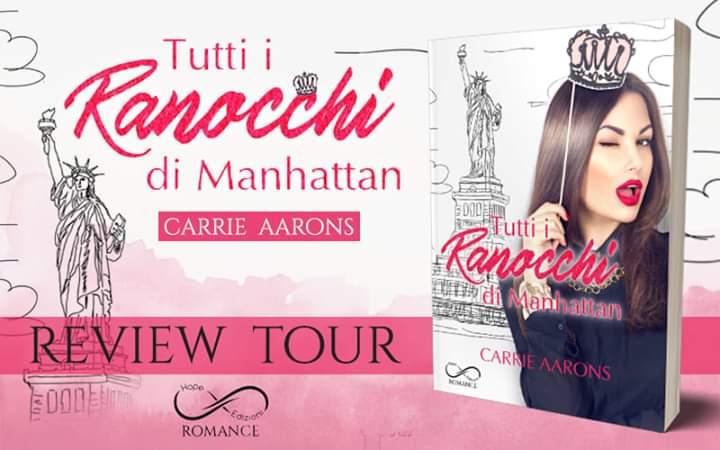 """Review Tour: """"Tutti i Ranocchi di Manhattan"""" di Carrie Aarons"""