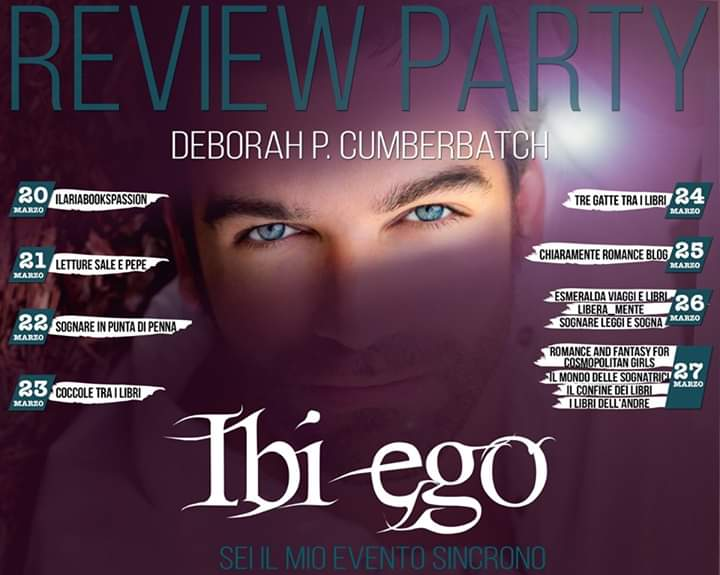 "Review party, ""Ibi Ego"" di Deborah P. Cumberbatch"
