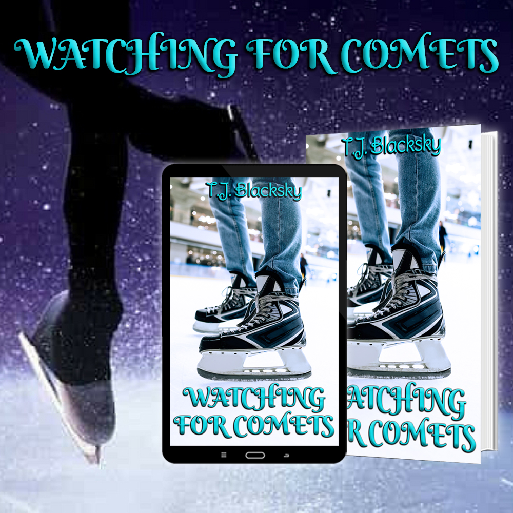 """Anteprima,""""Watching for comets"""" di T.J. Blacksky"""