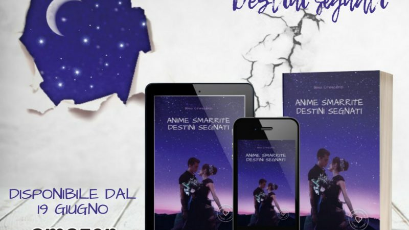 COVER REVEAL, Anime smarrite destini incrociati di Elisa Crescenzi