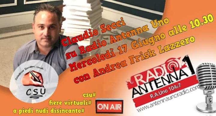 """Intervista a Claudio Secci, autore """"disincanto"""""""
