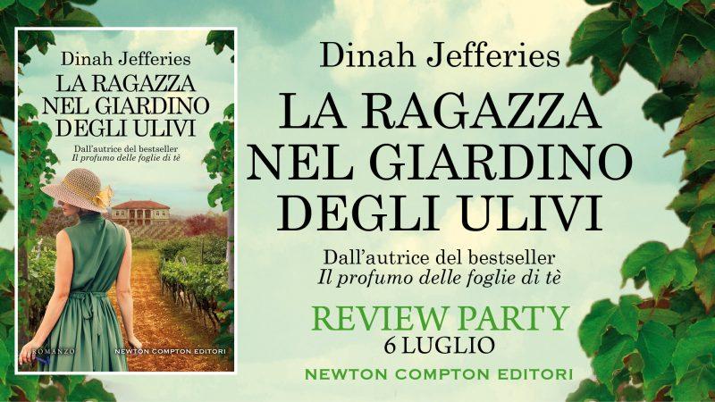 Review party, La ragazza nel giardino degli ulivi di Dinah Jefferies