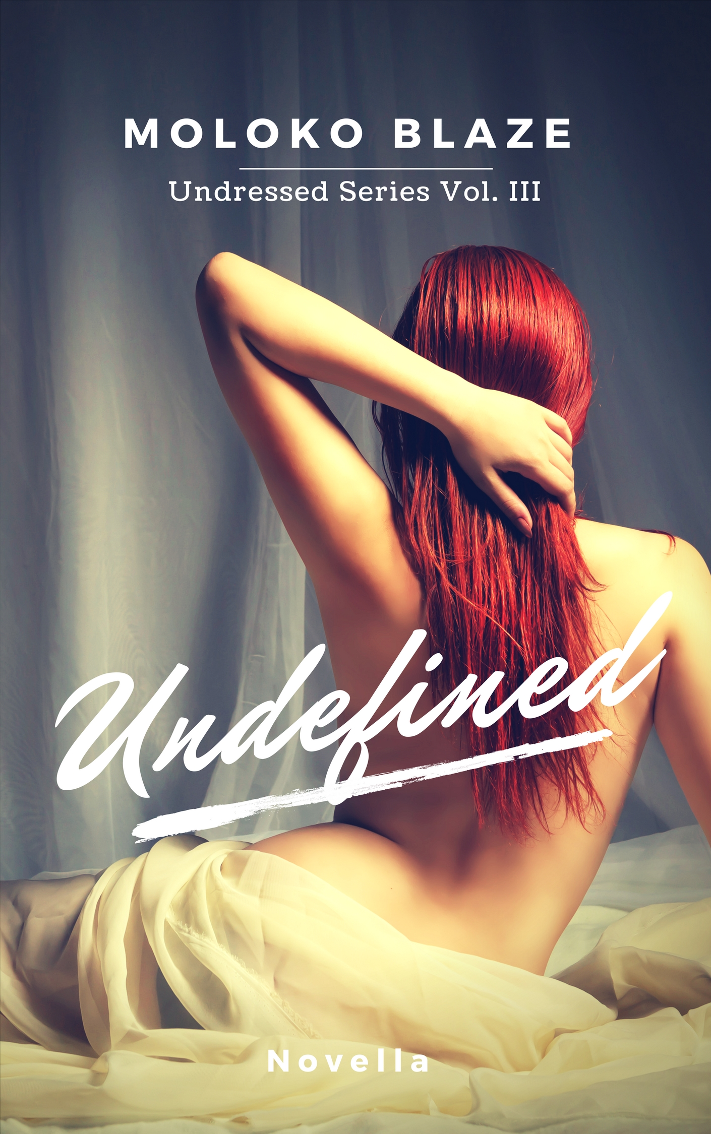 Cover reveal UNDEFINED – UNDRESSED SERIES VOL. III di Moloko Blaze