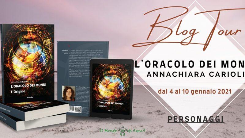Blog tour, L'oracolo dei mondi di  Annachiara Cairoli