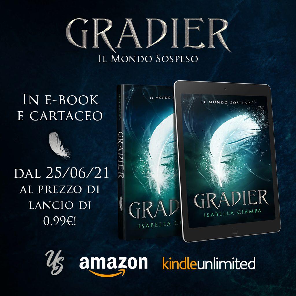 Cover reveal, Gradier (Il Mondo Sospeso #1) di Isabella Ciampa