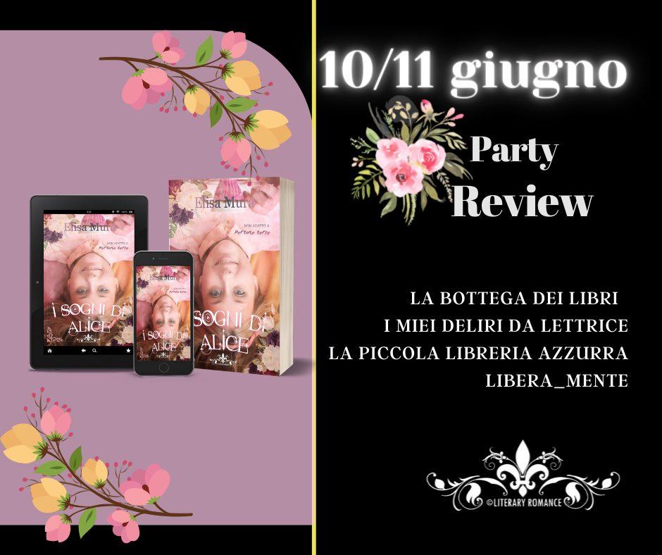 """review party: """"I sogni di Alice"""" di Elisa Mura"""